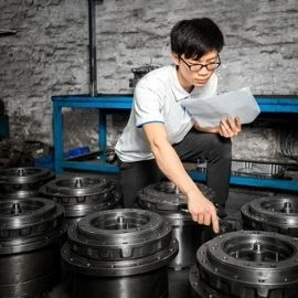 double check excavator spare parts to ship
